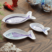 Rockport Fish Plates - Set of 3