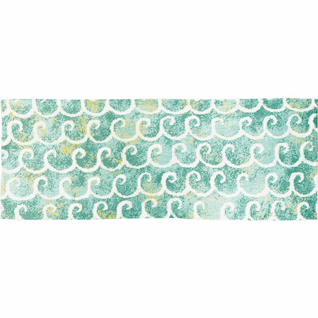 Rolling Waves Rug - 2 x 5