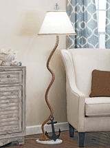 Rope & Anchor Iron Floor Lamp