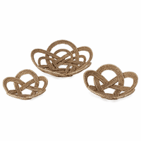 Rope Decorative Bowls - Set of 3