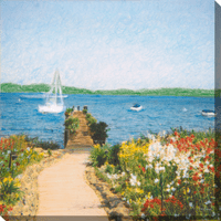 Rosemont Bay I Canvas Art