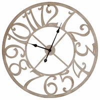 Round Time Wall Clock