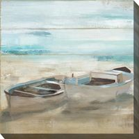 Rowboat Pair Canvas Art