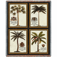 Royal Palms Blanket