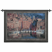 Ruby Sails Wall Tapestry