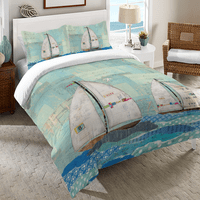 Sailboat Race Duvet Cover Collection
