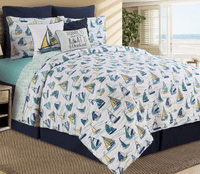Sailboat Sea Quilt Bedding Collection