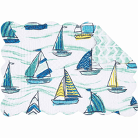 Sailboat Sea Table Linens