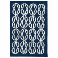 Sailing Knots Indoor/Outdoor Rug Collection