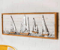 Sailing Vessels Framed Wall Art - OUT OF STOCK