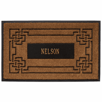 Sailor's Knot Personalized Coir Mat