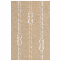 Sailor's Knotty Natural Indoor/Outdoor Rug Collection