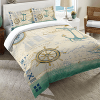 Sailor Script Comforter - King