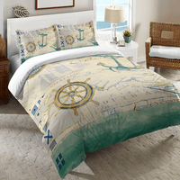 Sailor Script Duvet Cover Collection