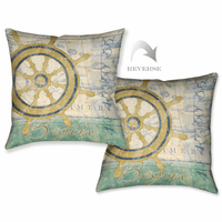 Sailor Script II Pillow