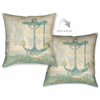 Sailor Script III Pillow