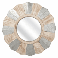 Salt Fork Round Wall Mirror - OUT OF STOCK UNTIL 1/2/2020