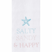 Salty & Happy Flour Sack Towels - Set of 6