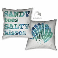 Salty Kisses Pillow