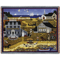Salty Witch Bay Blanket