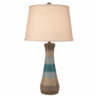 Sand and Sea Hourglass Table Lamp