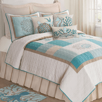 Sand and Sea Quilt - King