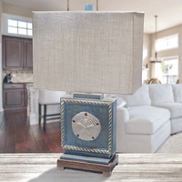 Sand Dollar Beach Table Lamp