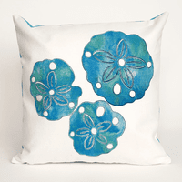Sand Dollar Pearl Pillow - 20 x 20