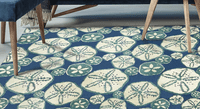 Sand Dollar Sea Indoor/Outdoor Rug Collection