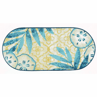 Sand Dollar Sun Bath/Kitchen Rug