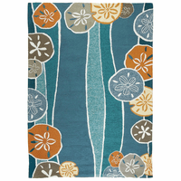 Sand Dollar Waves Indoor/Outdoor Rug Collection
