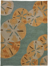 Sand Dollars By The Sea Rug Collection