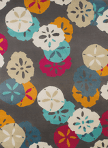 Sand Dollars Charcoal Rug Collection