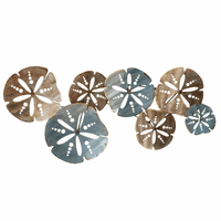 Sand Dollars Layered Wall Art