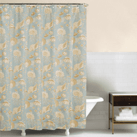 Sand Shell Beach Shower Curtain