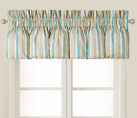 Sand Shore Striped Valance