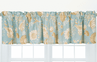 Sand Shell Beach Valance