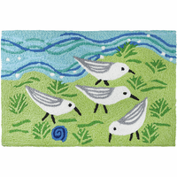 Sandpiper Squad Indoor/Outdoor Rug