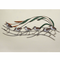 Sandpiper Wave Wall Hanging - OVERSTOCK