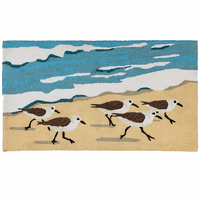 Sandpipers at High Tide Rug
