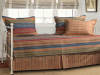 Sandy Beach Stripe 5-Piece Daybed Set