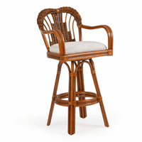 Sandy Cove Swivel Barstool