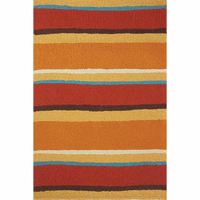 Sandy Sunset Stripe Indoor/Outdoor Rug Collection