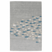 School Time Gray Rug Collection