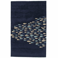 School Time Navy Rug Collection