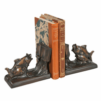Schooling Fish Bookends - Bronze