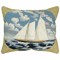Schooner America Pillow