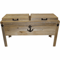 Sea Anchor Double Cooler Chest