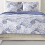 Sea Blues 3 Pc Quilt Set - King - OUT OF STOCK