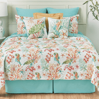 Sea Bounty Quilt Set - King - OUT OF STOCK